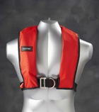 Life jacket with harness